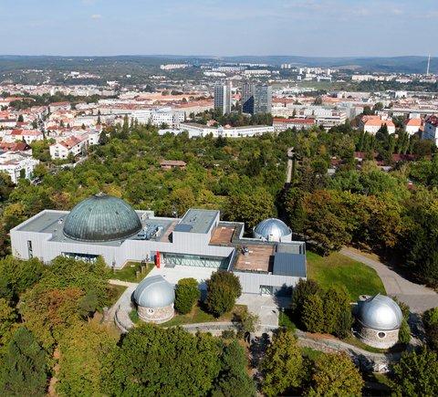 Hvězdárna a planetárium Brno (zdroj: hvezdarna.cz )