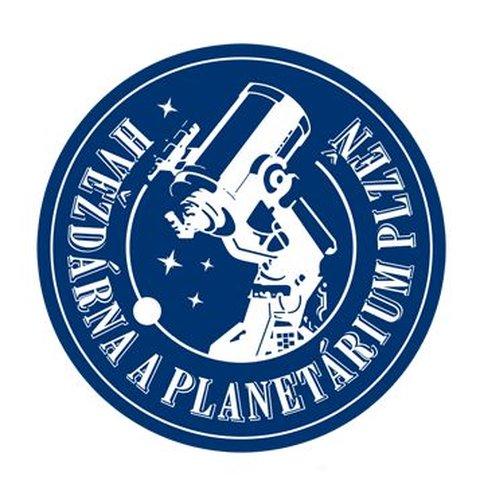 Hvězdárna a planetárium Plzeň logo